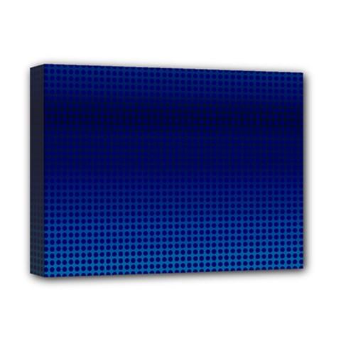 Blue Dot Deluxe Canvas 16  X 12   by PhotoNOLA