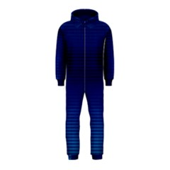 Blue Dot Hooded Jumpsuit (kids) by PhotoNOLA