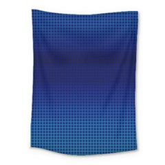 Blue Dot Medium Tapestry by PhotoNOLA