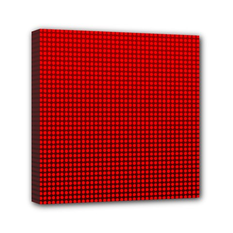 Redc Mini Canvas 6  X 6  by PhotoNOLA