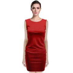 Redc Classic Sleeveless Midi Dress by PhotoNOLA