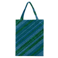 Stripes Course Texture Background Classic Tote Bag by Nexatart