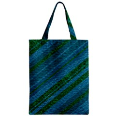 Stripes Course Texture Background Zipper Classic Tote Bag