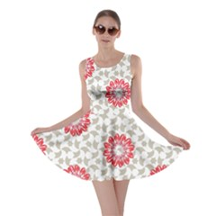 Stamping Pattern Fashion Background Skater Dress
