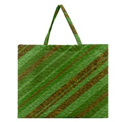 Stripes Course Texture Background Zipper Large Tote Bag by Nexatart