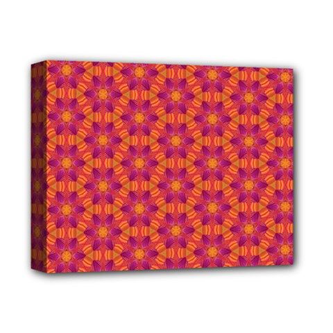 Pattern Abstract Floral Bright Deluxe Canvas 14  X 11