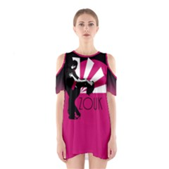 Zouk   Forget The Time Shoulder Cutout One Piece