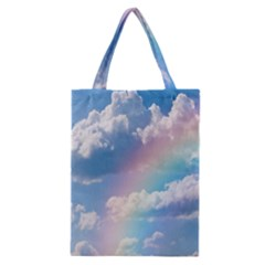 Sky Pattern Classic Tote Bag by Valentinaart
