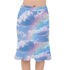 Sky Pattern Mermaid Skirt by Valentinaart