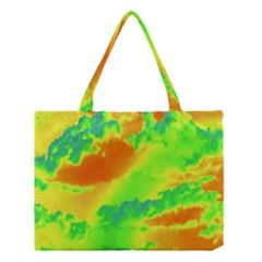 Sky Pattern Medium Tote Bag by Valentinaart