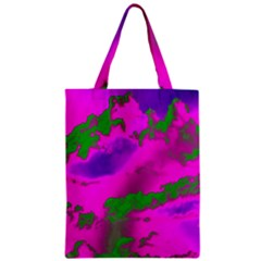 Sky Pattern Zipper Classic Tote Bag by Valentinaart