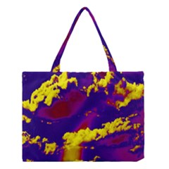 Sky Pattern Medium Tote Bag by Valentinaart