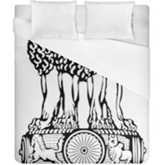 National Emblem Of India  Duvet Cover (california King Size) by abbeyz71
