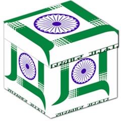 Seal Of Indian State Of Jharkhand Storage Stool 12   by abbeyz71