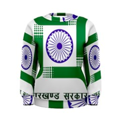 Seal Of Indian State Of Jharkhand Women s Sweatshirt by abbeyz71