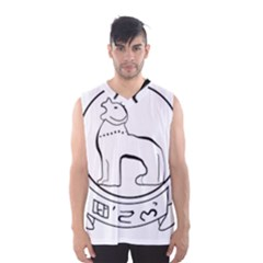 Seal of Indian State of Manipur  Men s Basketball Tank Top by abbeyz71