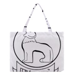 Seal Of Indian State Of Manipur  Medium Tote Bag by abbeyz71