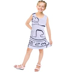 Seal Of Indian State Of Manipur  Kids  Tunic Dress by abbeyz71