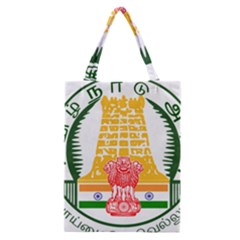 Seal Of Indian State Of Tamil Nadu  Classic Tote Bag by abbeyz71