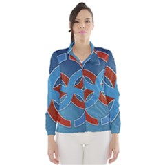 Svadebnik Symbol Slave Patterns Wind Breaker (women)
