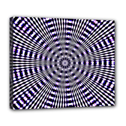 Pattern Stripes Background Deluxe Canvas 24  X 20   by Nexatart