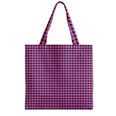 Pattern Grid Background Grocery Tote Bag by Nexatart