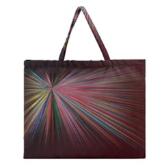 Background Vector Backgrounds Vector Zipper Large Tote Bag by Nexatart