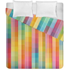 Background Colorful Abstract Duvet Cover Double Side (california King Size)