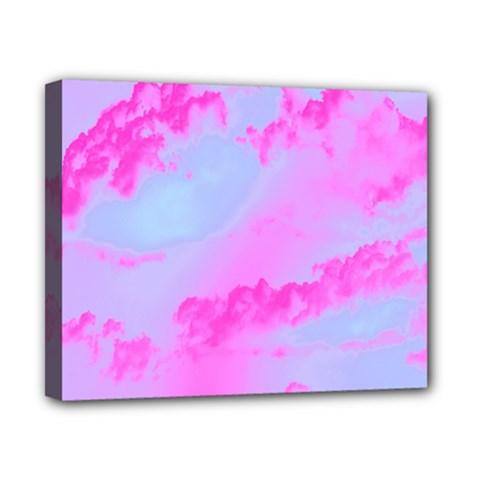 Sky Pattern Canvas 10  X 8