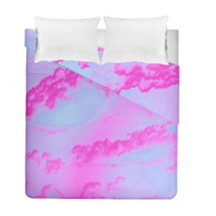 Sky Pattern Duvet Cover Double Side (full/ Double Size) by Valentinaart