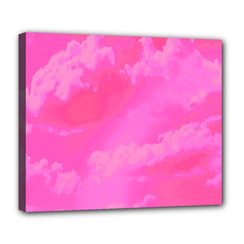 Sky pattern Deluxe Canvas 24  x 20