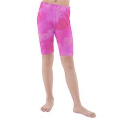 Sky pattern Kids  Mid Length Swim Shorts