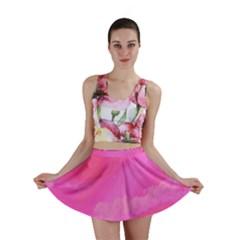 Sky pattern Mini Skirt