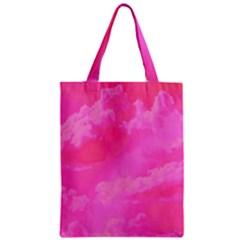 Sky pattern Zipper Classic Tote Bag