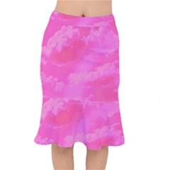 Sky pattern Mermaid Skirt