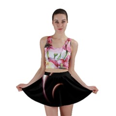 Planet Space Abstract Mini Skirt