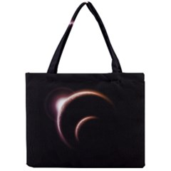Planet Space Abstract Mini Tote Bag