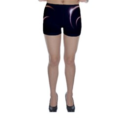 Planet Space Abstract Skinny Shorts