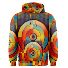 Abstract Pattern Background Men s Pullover Hoodie
