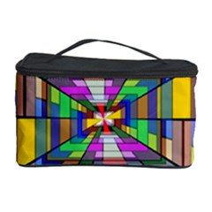 Art Vanishing Point Vortex 3d Cosmetic Storage Case by Nexatart