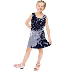 Art About Ball Abstract Colorful Kids  Tunic Dress