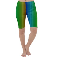 Spectrum Colours Colors Rainbow Cropped Leggings