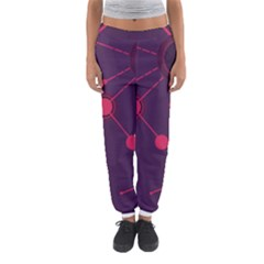 Abstract Lines Radiate Planets Web Women s Jogger Sweatpants