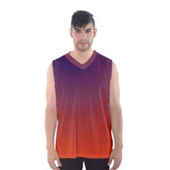 Course Colorful Pattern Abstract Men s Basketball Tank Top