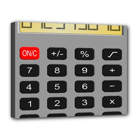 Calculator Canvas 14  X 11  by Mariart