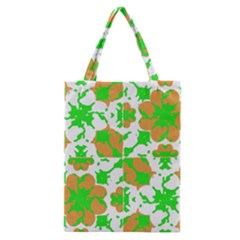 Graphic Floral Seamless Pattern Mosaic Classic Tote Bag by dflcprints