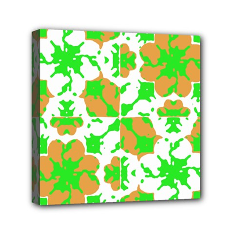 Graphic Floral Seamless Pattern Mosaic Mini Canvas 6  X 6  by dflcprints