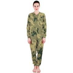 Greencamouflage Onepiece Jumpsuit (ladies)