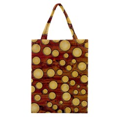 Wood And Gold Classic Tote Bag