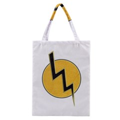Lightning Bolt Classic Tote Bag by linceazul